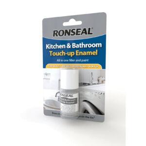 Fregadero, bañera y electrodomésticos Ronseal para cocina y baño, esmalte para retoques, color blanco