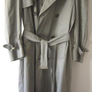 Gabardina de moda de diseñador para hombre Dunhill, impermeable.  Tamaño 40 '', ML.