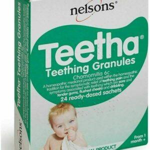 Gránulos para la dentición Dientes dentales Alivio de las encías Bebés Recién nacidos Llorando - Nelsons