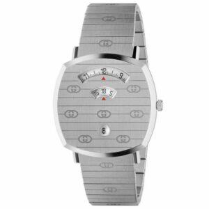 Gucci YA157410 Grip 35MM Reloj unisex de acero inoxidable