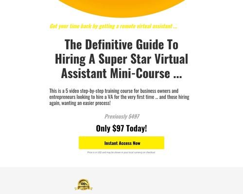 Guía definitiva para contratar un minicurso de VA · SmashGo