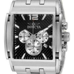 Invicta 32585 Speedway Reloj cronógrafo de cuarzo con esfera negra para hombre