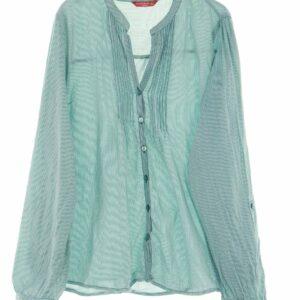 MODA DE MUJER - Bluse mit Roll-up-Manschette aus Baumwolle XL Oberteil Top