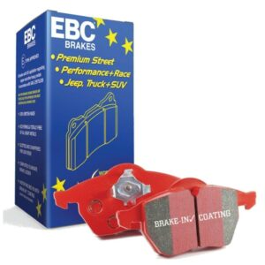 Pastillas de freno delanteras reforzadas EBC Redstuff - DP31935C