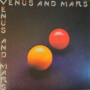 Paul McCartney & Wings - Venus And Mars UK LP 2 carteles y 2 pegatinas (1U / 1U)