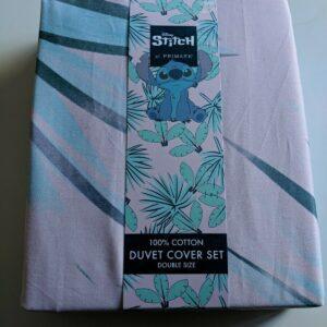 Primark Disney Stitch Juego de funda nórdica doble tamaño 100% algodón Nuevo ...