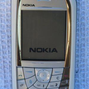 Rare Nokia 7610 - Gris y plateado (Vodafone) Teléfono móvil Buen estado