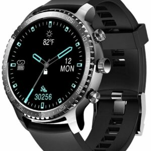 Reloj inteligente Tinwoo para teléfonos Android / iOS, soporte de carga inalámbrica, Bluetooth