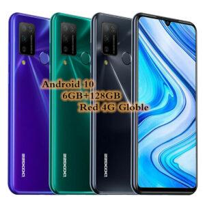 Smartphone 4G Doogee N20 Pro 6GB + 128GB Android 10 Móvil Libre 2xSIM 4400mAh