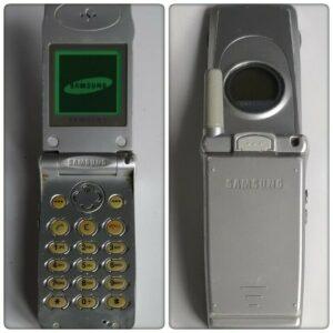 Teléfono móvil Samsung SGH-A300 (desbloqueado).  En caja original con accesorios.