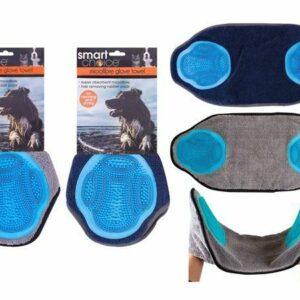 Toalla para mascotas Perros Secado Almohadillas de aseo Suministros para mascotas Guante de microfibra Smart Choice