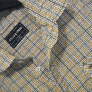 craghoppers, camisa de senderismo, ropa al aire libre, para hombre, talla 40 en el pecho,